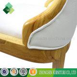 Cadeira de madeira de borracha da parte traseira da elevação do estilo de Janpanese para o restaurante (ZSC-01)