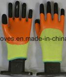 완전히 니트릴은 산업 장갑, 뜨개질을 한 손목 니트릴에 의하여 입힌 장갑을 담겄다