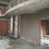 Pared masilla mortero de cemento enlucido / cemento mezclador de concreto máquina pulverizadora