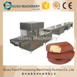 Ligne machine d'enrobeuse de chocolat d'acier inoxydable