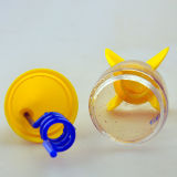 Spiral Strawの昇進10ozロケットShaped Water Cup
