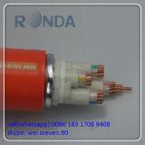 240 Quadrat-mm angeschwemmte Beweis-elektrische kabel des Feuer-500V