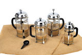 GlasCoffee Maker Glass Tea Pot mit Plastic Handle