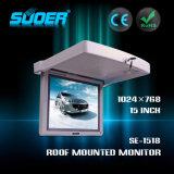 Telhado de Suoer monitor do diodo emissor de luz LCD do carro de 15 polegadas (SE-1518)