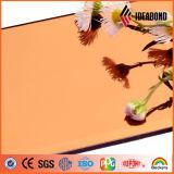 중국 공급자에게서 Fasade 훈장 건축을%s 다른 색깔 코팅을%s 가진 내화성이 있는 알루미늄 미러 ACP 장