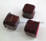 Kundenspezifische Glanz-Laminierung-hölzerner verpackenkasten