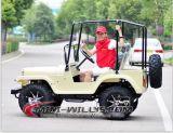 mini jeep Jw1501 del motor adulto 200cc con la linterna de 7 pulgadas LED