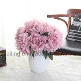 Flor artificial vendedora caliente de los ramos del Peony usada para la decoración (SW11221)