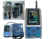 Grand étalage 24 Fournisseurs-Maggie ambulatoires de Holter de contrôle de pression sanguine d'Abpm d'enregistrement d'heure