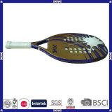 Racchetta di tennis durevole della spiaggia del carbonio con il marchio personalizzato