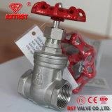 Soupape à vanne en hausse de la cheminée 200wog de l'amorçage CF8/CF8m d'acier inoxydable
