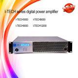 Amplificador de potência duplo estereofónico da classe HD 2/4/8ohms de I-Tech8000HD