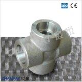 O encaixe de tubulação resistente à corrosão rosqueado cruza B626 Uns N10276 (Hastelloy C276