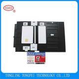 Bac à cartes blanc de PVC de carte de PVC pour l'imprimeur d'Epson L800