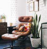 현대 디자이너 Eames 라운지용 의자 & 오토만
