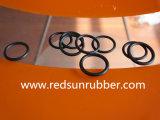 Roter Silikon-O-Ring