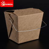 caja china de papel disponible de los tallarines del alimento de 16oz 24oz 26oz 32oz