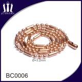 方法多彩な電気めっきの金の球の鎖