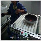 Machine d'enduit automatique de poudre pour la batterie de cuisine antiadhésive