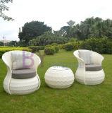 Новая конструированная мебель ротанга высокой ранга Three-Piece напольная