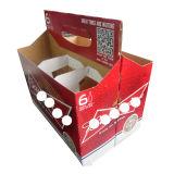 Пиво кладет коробки в коробку пакета пива