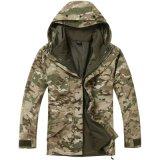 Parka militaire de temps froid avec la jupe d'ouatine à l'intérieur