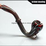 Куря труба Shisha DAB Барботер табака кальяна воска толщиной куря дунутый рукой стремительный оптовый