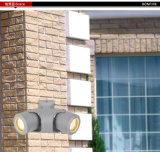 up&Down Outdoor Aluminum Wall Light con Ce RoHS
