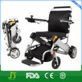 2016 cadeiras de rodas ultra de pouco peso eléctricas de dobramento da energia