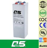 la batterie de 2V1200AH OPzV, GÉLIFIENT la batterie d'Aicd de fil réglée par soupape profonde tubulaire de batterie d'énergie solaire de cycle d'UPS ENV de batterie de plaque 5 ans de garantie, vie des années >20