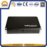 Caja de aluminio personalizada del tenis de vector con la espuma (HC-3001)