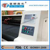 Máquina de estaca 180100 de matéria têxtil/couro/laser da tela com cabeça dobro