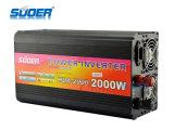 Inversor de la energía solar de Suoer 2000W 12V 220V con el cargador (HAD-2000C)
