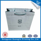 Blanc Couleur Laminage Glossy Grand Shopping Bag Paper