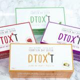Thé de fines herbes organique de Detox de 100% amincissant le thé de perte de poids de thé