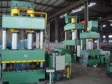 Capacidade do petróleo verde-oliva da placa da folha com o metal 100ton hidráulico que carimba a máquina da imprensa