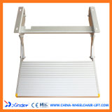 Auminium Manual Folding Step Ladder per Campus Cars