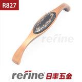 新しいデザイン陶磁器亜鉛合金のキャビネットのハンドル(R-827)