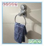 Anillo de toalla montado en la pared de las mercancías de los accesorios del cuarto de baño del final sanitario del cromo
