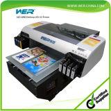 Stampante UV UV del PVC LED di legno di metallo del documento della stampatrice dell'imballaggio