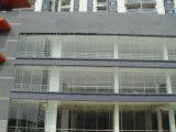 Doubles murs rideaux en verre en aluminium