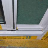 Finestra di scivolamento di alluminio rivestita della polvere Kz007 con la griglia/finestra di scivolamento di alluminio