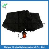 Parapluie automatique fois de la fleur 3 d'impression de promotion pour les hommes