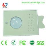 8W luz de la pared del sensor solar LED para la iluminación de la yarda del jardín
