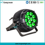 Hohe Leistung 12*14W 6in1 DMX LED PAR Outdoor Lighting für Garten