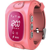 GPS Smart Watch com Factory Price, SOS, Voice Talk, Call, Long Standby Tempo para Kid, Personal Wt50-Ez