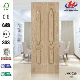 Laminate кожа двери золы отлитая в форму HDF