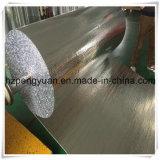 Isolação térmica de alumínio reflexiva da folha da bolha