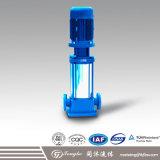 Pompe à eau centrifuge verticale de Mutistage d'acier inoxydable
