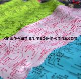 Подгонянная ткань 75D цифров напечатанная полиэфиром для мешка/занавеса